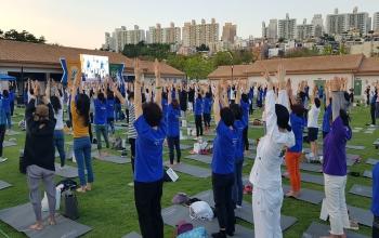 International Yoga Day held in Republic of Korea