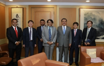 Visit of Minister of Commerce & Industry to ROK
