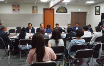 The Interaction Event 'Friends of India' at ICC Seoul (July 07, 2016)