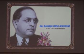 A celebration of the 125th Birth Anniversary of Dr. Bhimrao Ramji Ambedkar held at ICC Seoul (June 28, 2016)