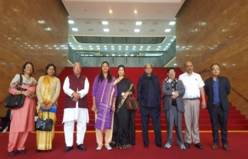 Visit of Parliamentarians to the National Assembly, ROK_ April 18, 2016