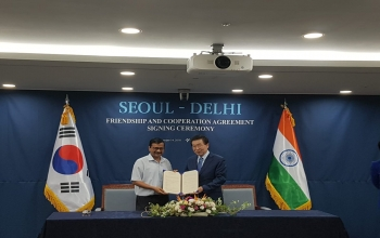 Address by Hon'ble Delhi CM at the MoU Signing ceremony
