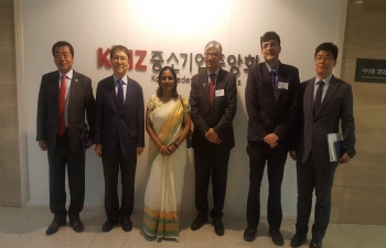 Visit of Confederation of Indian industries (CII) delegation