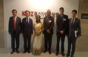 Visit of Confederation of Indian industries (CII) delegation