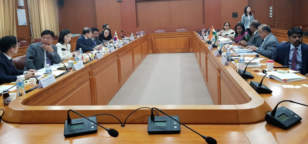 First Consular Dialogue between India and ROK