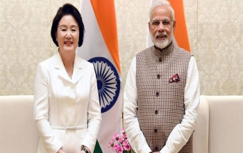 Visit of the First Lady of Republic of Korea to India