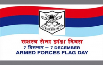 Contribution to Armed Forces Flag Day Fund