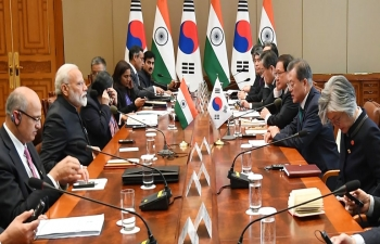 PM Visit to South Korea, 2019