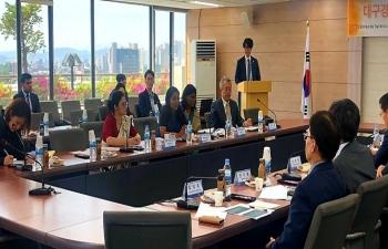 India-Daegu Gyeogbuk Forum, 2019