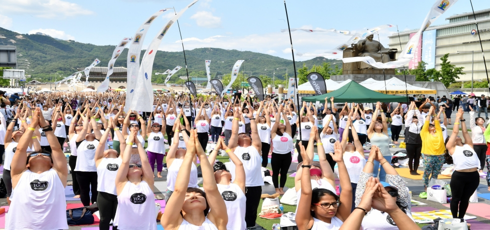 CELEBRATION OF INTERNATIONAL YOGA DAY, 2019