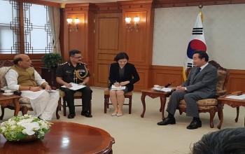 Visit of Raksha Mantri to Republic of Korea