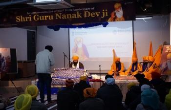 Celebration of 550th Birth Anniversary of Shri. Guru Nanak Dev ji