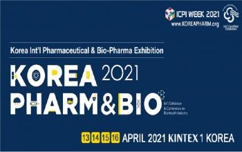 Korea International Pharma & Bio-Pharma Exhibition 13-16 April 2021