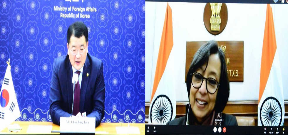 Consultations between Secretary (East) and Republic of Korea First Vice Foreign Minister