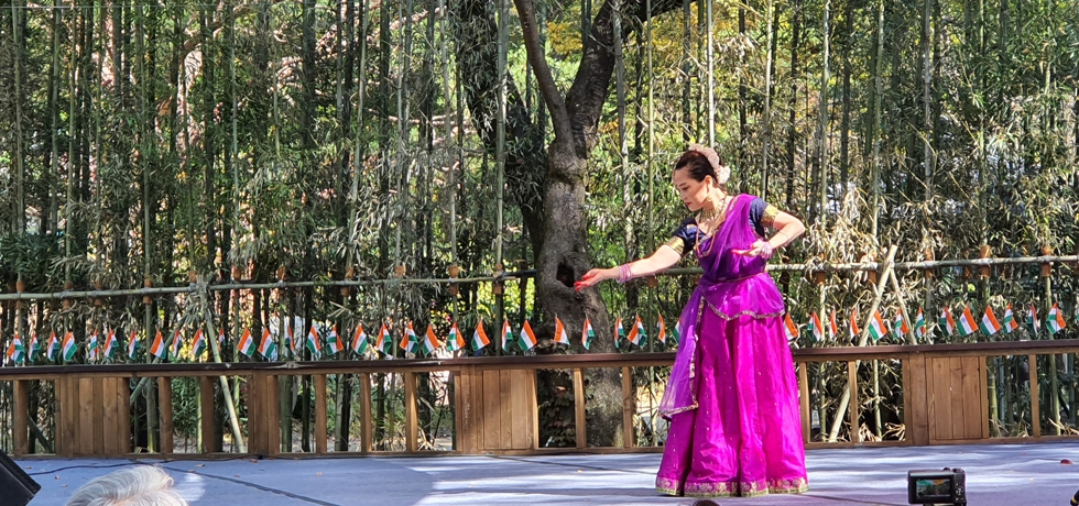 Sarang 2020 - Kathak performance at Nami Island by Ms Sukhee Oh