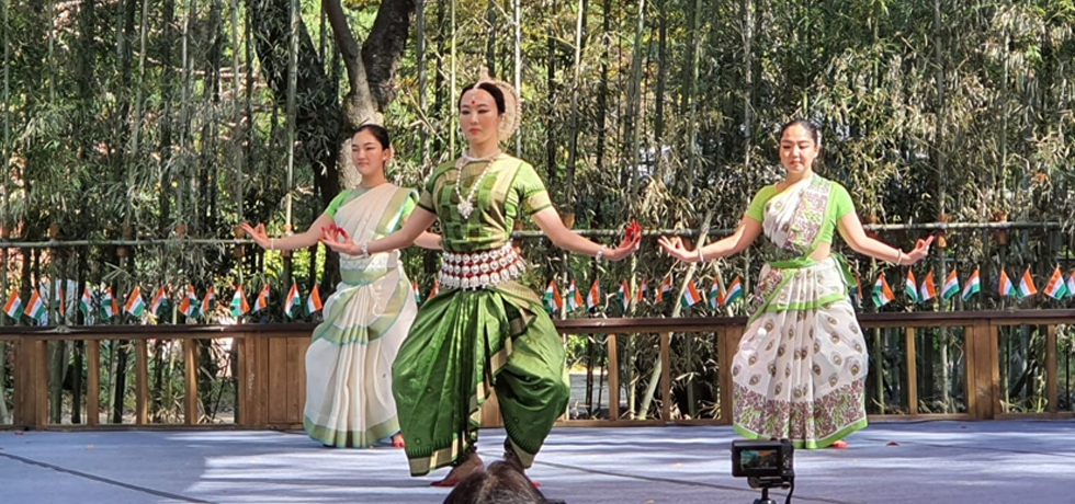 Sarang 2020 - Odissi performance at Nami Island by Ms Beena Keum