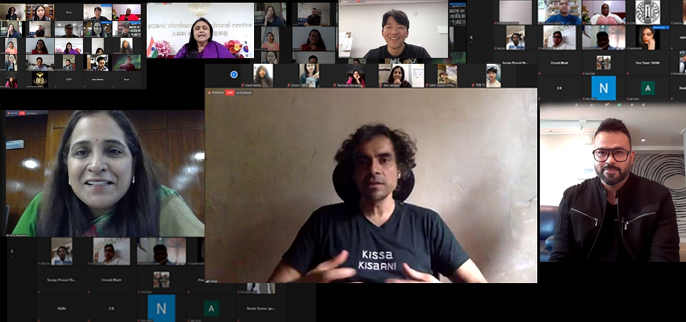 Sarang 2020 - Online interaction with Indian Film Director, Mr. Imtiaz Ali and Mr Lucky