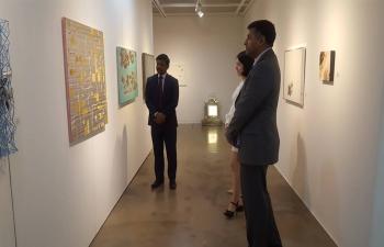 The Korea-India Contemporary Art Exhibition