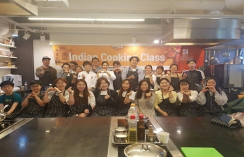 Indian Cooking Class for April