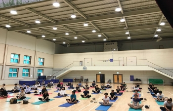Yoga Day at Gangwon Province
