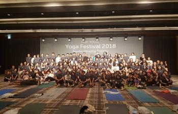 Yoga Festival at Park Roche