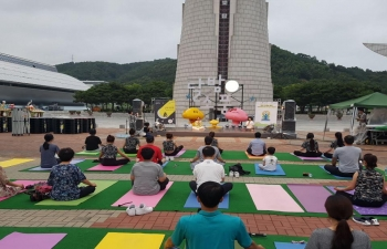 Yoga Day at Daejeon