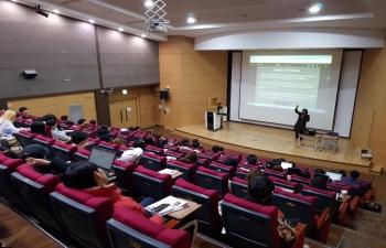 Kathak Workshop-Konkuk University