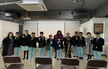 Students of Manthan school's visit to SVCC