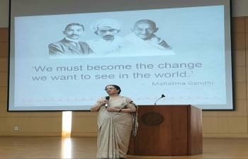 Gandhi Lecture at Yonsei University