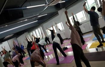 International Day of Yoga 2019 at SVCC