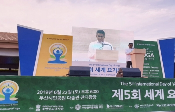 International Day of Yoga 2019 in Busan