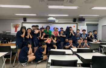 School Outreach Program at Hansan Middle School