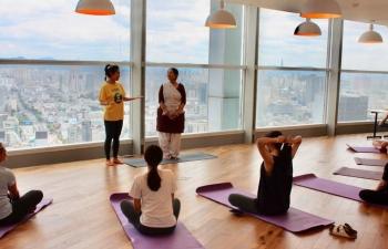 Yoga & Meditation workshop at WeWork