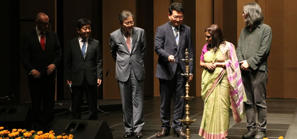 Inauguration of SARANG 2019 - Festival of India in the Republic of Korea (October 02, 2019)