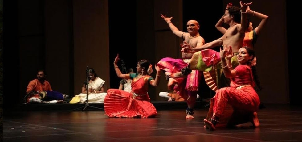 Bharatnatyam performance by Shri Kapil Sharma and group at Yonsei University, Seoul (October 02, 2019)