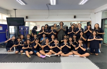 School Outreach Program at Choongam Middle School