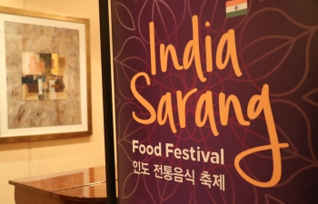 SARANG-The Festival of India in ROK [Indian Food Festival]