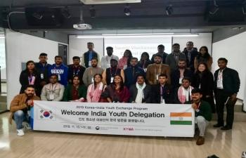 Visit of India Youth Delegation