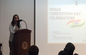 Indian Constitution Day Celebrations