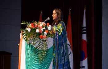 Celebration of 71st Republic Day of India in Gwangju