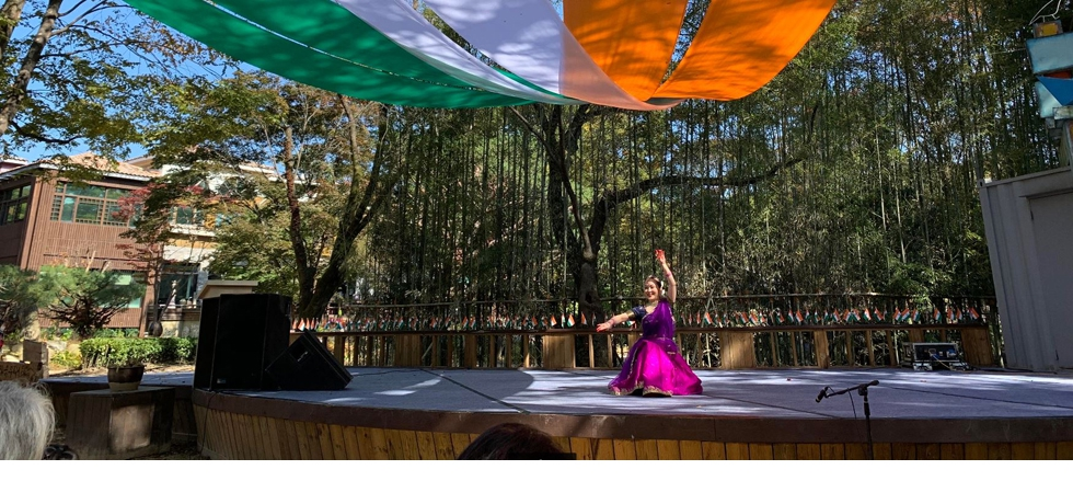 Kathak Performance at Nami Island (SARANG 2020: The Festival of India in the Republic of Korea)