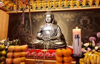 Enshrining Ceremony of the Statue of Lord Buddha (Tongdosa Temple)