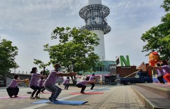 7th International Day of Yoga @ Namsan Seoul Tower