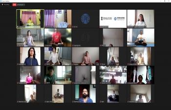 7th International Day of Yoga @ ONLINE EVENT
