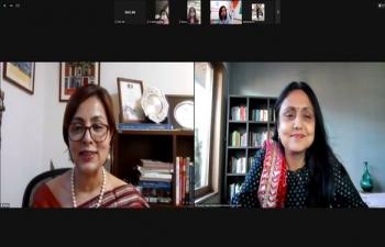 In Conversation with Indian Diaspora in ROK